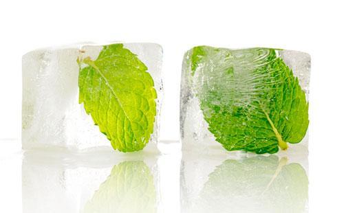 Мятный лед