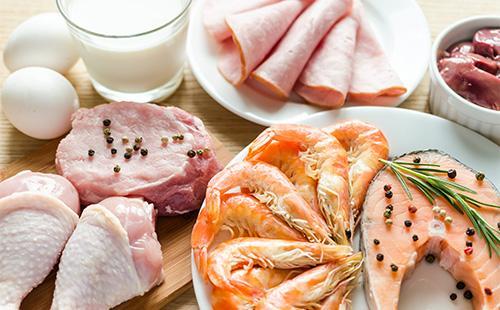 Продукты, в которых много белка