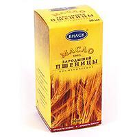 Масло из зародышей пшеницы в жёлтой коробке
