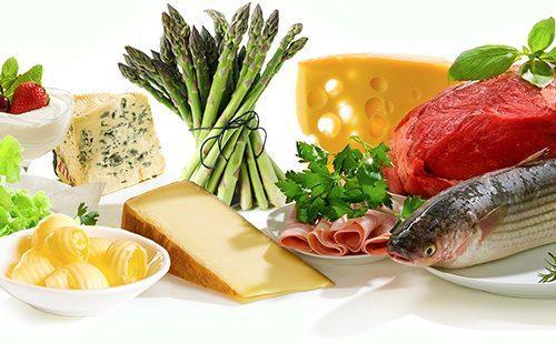 Рыба, мясо, сыр и зелень — всё сгодится для стола