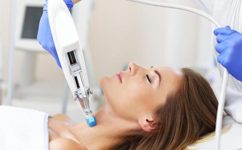 Мезотерапия кожи шеи