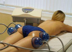 Вакуумный массаж ног для похудения