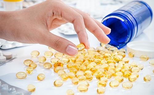 Капсулы с витамином Е
